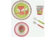 Prémaman Set repas complet en bambou premaman 'fox'