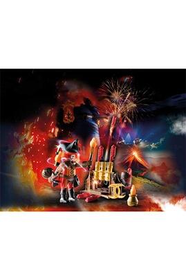 PLAYMOBIL Playmobil 70228 - novelmore - burnham raider maître du feu