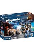 PLAYMOBIL Playmobil 70225 - chevaliers novelmore avec canon et loups