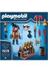 PLAYMOBIL Playmobil 70228 - novelmore - burnham raider maître du feu photo 3