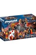 PLAYMOBIL Playmobil 70221 - novelmore - forteresse volcanique des burnham raiders