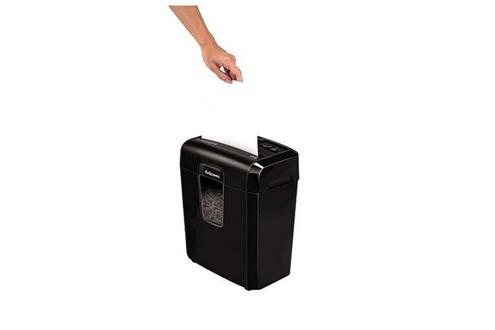 Dealmarche Déchiqueteuse de papier coupe fine fellowes 8cd 14 l 4 x 35 mm noir