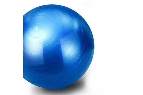 Euro Mega Swiss ball fitness pilates yoga bleu 65cm s