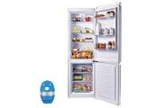 Candy Refrigerateur frigo combine blanc 305l a+ froid brassé finition épurée ccbs 6182 whv 1
