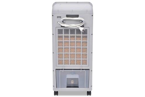 Vidaxl Refroidisseur d'air mobile 80 w 12 l 496 m³ / h