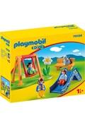 PLAYMOBIL Playmobil 70130 - 1.2.3 - parc de jeux