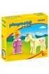 PLAYMOBIL Playmobil 70127 - 1.2.3 - princesse et licorne photo 1