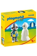 PLAYMOBIL Playmobil 70128 - 1.2.3 - chevalier et fantôme