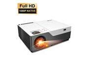 Artlii Vidéoprojecteur stone1 full hd avec zoom rétroprojecteur 1080p led