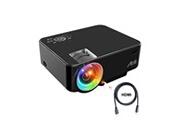 Artlii Vidéoprojecteur portable t20 noir 480p 2000 lumens