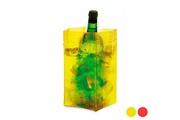 Euroweb Seau à glace en pvc coloré (23,5 cm) - ice bag sac de glace couleur - blanc