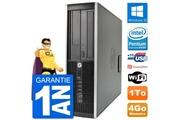 Hp Pc hp compaq 6200 pro sff intel g630 ram 4go disque dur 1to windows 10 wifi
