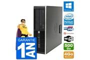 Hp Pc hp compaq pro 6300 sff intel g630 ram 4go disque dur 500go windows 10 wifi