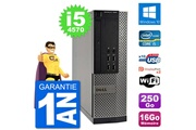 Dell Pc dell optiplex 7020 sff intel i5-4570 ram 16go disque 250go windows 10 wifi