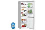 Indesit Réfrigérateur frigo combiné inox 338l a+ froid brassé low frost lr 8 s 1 fs