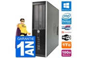 Hp Pc hp compaq 6200 pro sff intel g630 ram 16go disque dur 1to windows 10 wifi