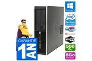 Hp Pc hp compaq pro 6300 sff intel g630 ram 8go disque dur 500go windows 10 wifi