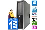 Hp Pc hp compaq 6200 pro sff intel g630 ram 8go disque dur 500go windows 10 wifi