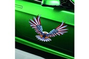 Generic 1 set / 4pcs voiture décalcomanie flying hawk auto camion capot côté d'eagle drapeau etats-unis autocollant sticker 212