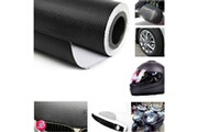 Generic Black fashion 3d carbon 152 * 20cm fibre vinyle autocollant pour voiture ipod moto sticker 307