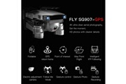 Generic Drone sg907 drone gps avec 4k hd dual camera wifi fpv rc quadcopter drone pliable