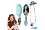Euroweb Kit de beauté pour filles de soy luna design - brosse+collier turquoise