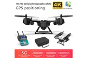 Generic Drone ky601g drone gps avec caméra 4k hd 5g wifi fpv rc quadcopter drone pliable