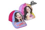 Euroweb Casquette pour fillette soy luna (55 cm) - protection solaire enfant couleur - fuchsia
