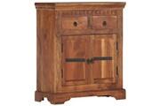 GENERIQUE Armoires et meubles de rangement edition sarajevo buffet 63 x 30 x 75 cm bois d'acacia massif