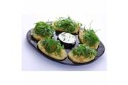 No-name Moderne cuit pomme de terre pot'asty vert