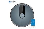 Proscenic Proscenic aspirateur robot 820p-contrôlable avec application-1800pa-65db-120min autonomie-bleu