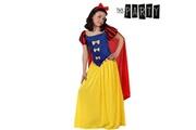 Euroweb Costume pour fillette blanche-neige - déguisement panoplie taille - 3-4 ans