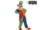 Euroweb Costume pour enfant clown - deguisement original fille et garçon taille - 7-9 ans