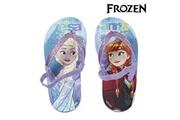Euroweb Tongs la reine des neiges en caoutchouc eva - chaussure de plage, mer et piscine taille des chaussures - 35