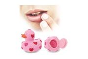 Euroweb Baume pour lèvres en forme de canard - hydration et soins couleur - jaune