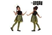 Euroweb Costume d'abeille pour fillette - déguisement taille - 3-4 ans