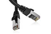 Goobay Cable réseau gigabit ethernet rj45 cat5e 10m routeur modem switch tv box pc xbox ps4