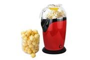 Todeco Machine à popcorn maison, appareil à popcorn eléctrique, rouge, dimensions: 30,5 x 17 x 16,3 cm