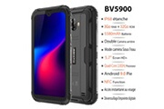 Blackview Smartphone ip68 étanche 4g blackview bv5900 5.7'' écran 3go ram 32go rom android 9.0 téléphone portable incassable - orange