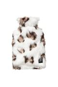 Instant D'o Bouillotte design léopard savane - 3 l - blanc