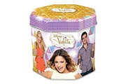 France Cartes Violetta tin box