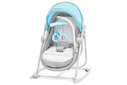 KINDERKRAFT Unimo2 transat balancelle berceau siège bébé 5en1 pliable bleu