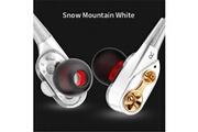 Shot Case Ecouteurs hq design pour sony xperia 1 ii smartphone avec micro kit main libre haut de gamme universel jack (blanc)
