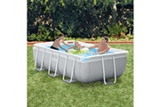 GENERIQUE Icaverne - piscines splendide intex ensemble de piscine prism frame rectangulaire 300x175x80 cm