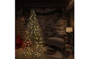 GENERIQUE Décorations de noël et saisonnières selection hanoï arbre de noël cône 240 led d'intérieur/d'extérieur 115x150 cm