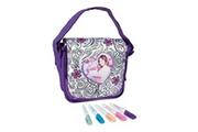 Violetta Smoby 86080 - loisirs creatifs - color me mine violetta - sac bandouliere à colorier