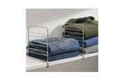 Interdesign Séparateur gris pour armoire - lot de 2