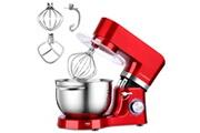 Cookmii 1500w silencieux robot pâtissier, robot petrin, anti-glissement robot cuisine multifonction avec bol d'acier inox 5.5l