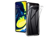 Phonillico Coque gel tpu transparent pour samsung galaxy a80 - protection silicone souple ultra mince [phonillico®]