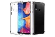 Phonillico Coque antichoc silicone transparent pour samsung galaxy a20e [phonillico®]